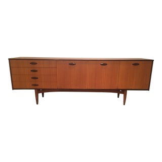 1960s Mid Century Modern McIntosh of Kirkcaldy Long Two Tone Credenza For Sale