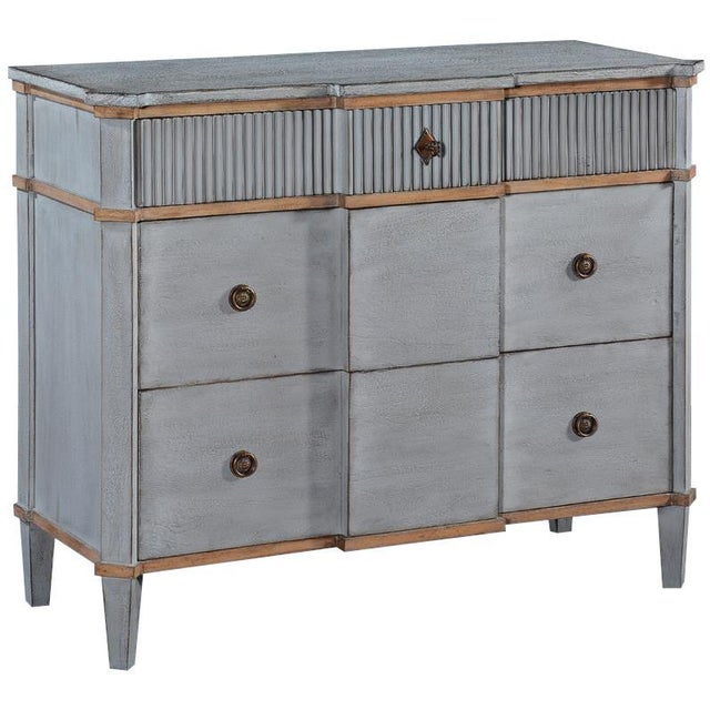 Early 21st Century St. Denis Console Chest of Drawers Old-world For Sale - Image 5 of 5