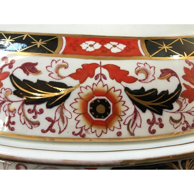 Early 19th Century Final Markdown 19th C. Ashworth Soup Tureen & Underplate For Sale - Image 5 of 10