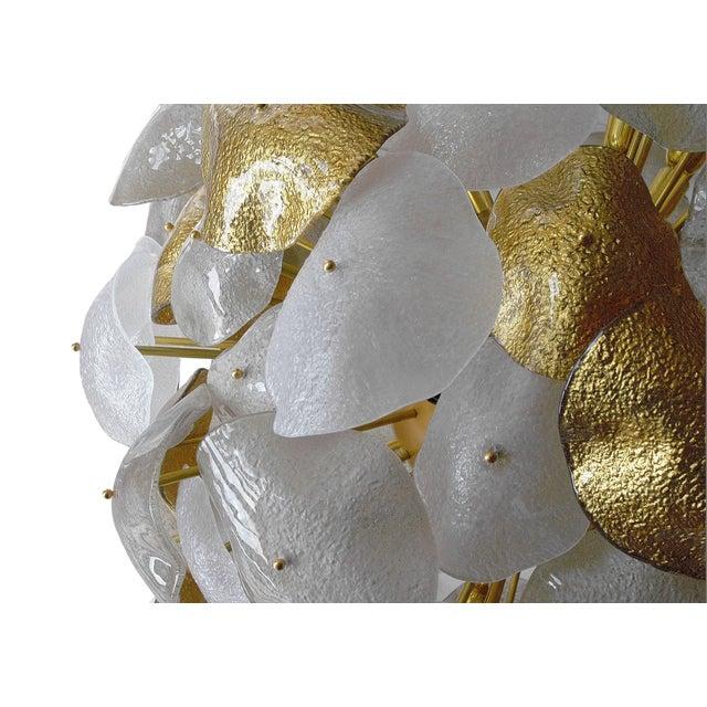 Italian Nube Chandelier by Fabio Ltd For Sale - Image 3 of 8