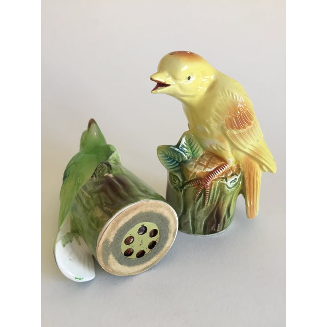 """Chirping"" Birds Salt & Pepper Shakers For Sale - Image 4 of 5"
