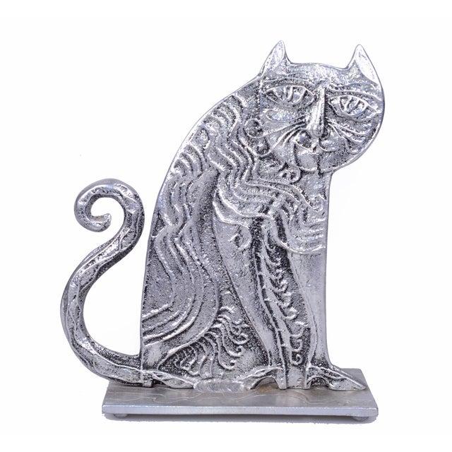 Don Drumm Cast Aluminum Cat For Sale - Image 4 of 7