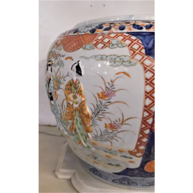 Japanese Imari Fish Bowl For Sale In Chicago - Image 6 of 13