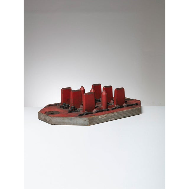 1980s Italian Wood Foundry Mold For Sale - Image 5 of 5