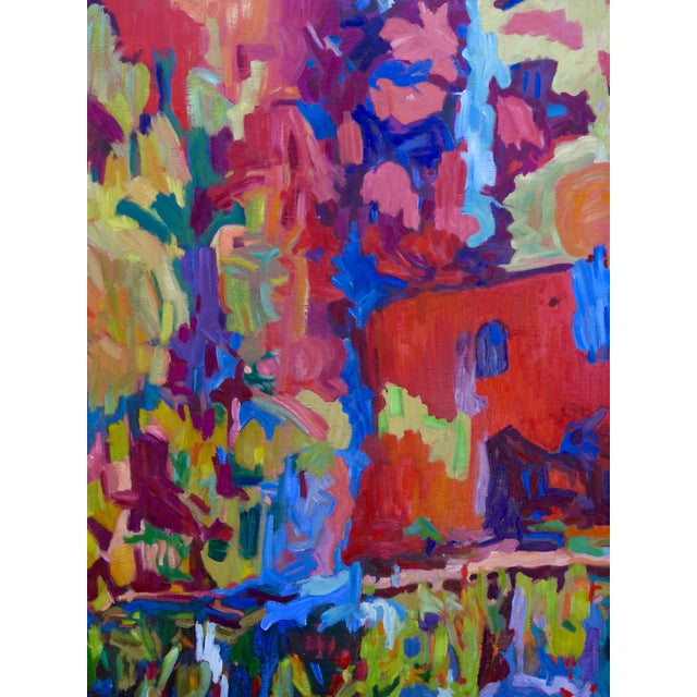 Monumental Abstract House Painting - Image 5 of 7