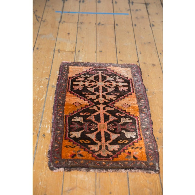 "Old New House Vintage Oushak Rug Mat - 1'8"" X 2'11"" For Sale - Image 4 of 6"