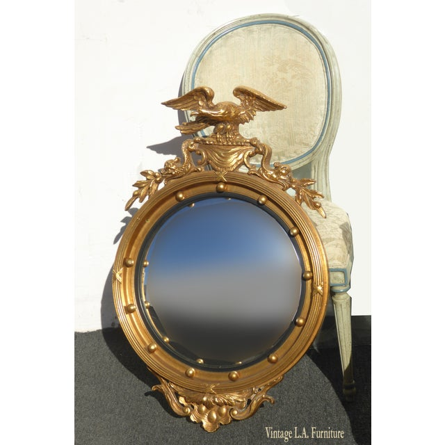 Gorgeous Mirror in Great Vintage Condition. Solid and Firm. Wear is usual for its age. Please see photos. Overall a...