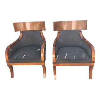 1900s Antique Smith and Watson Chairs- A Pair For Sale