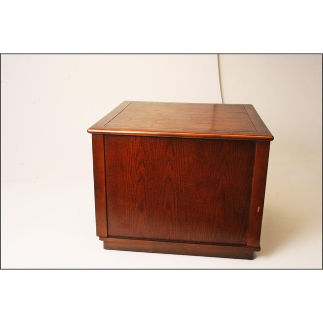 Harvey Probber Style Mid-Century Modern Square Side Table - Image 7 of 11
