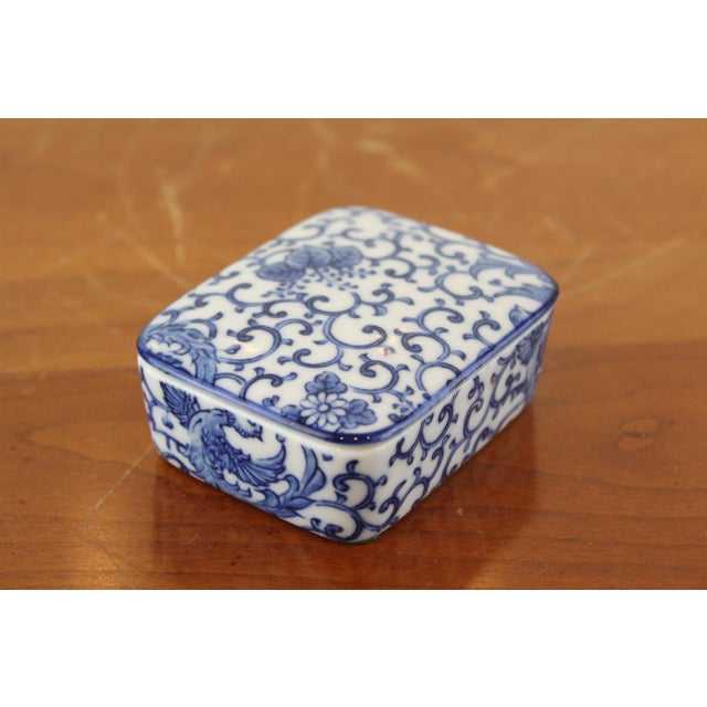 Mid 20th Century 20th Century Chinese Pheasant Ring Box For Sale - Image 5 of 5
