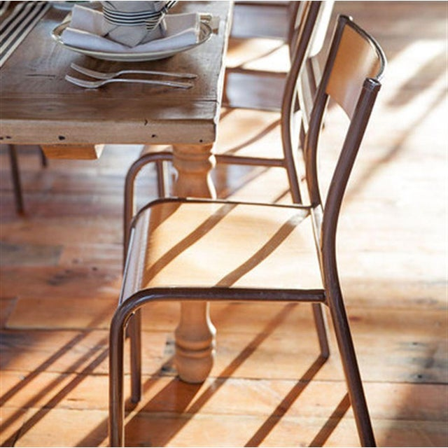 vintage mullca 510 french schoolhouse chair chairish