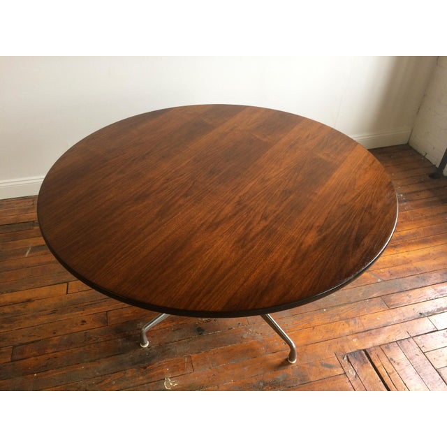 Herman Miller Eames for Herman Miller Aluminum Group Table For Sale - Image 4 of 6