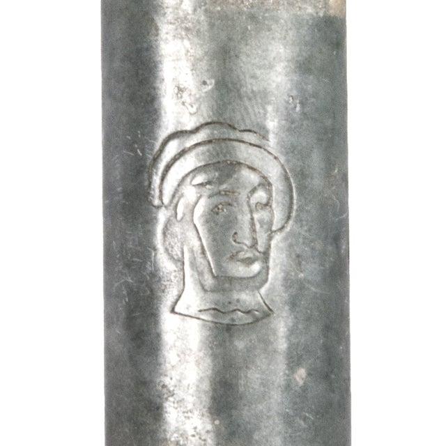Vintage French Metal Wine Bottle Carrier - Image 4 of 4