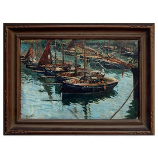 Cornish Harbor Fishing Boats For Sale