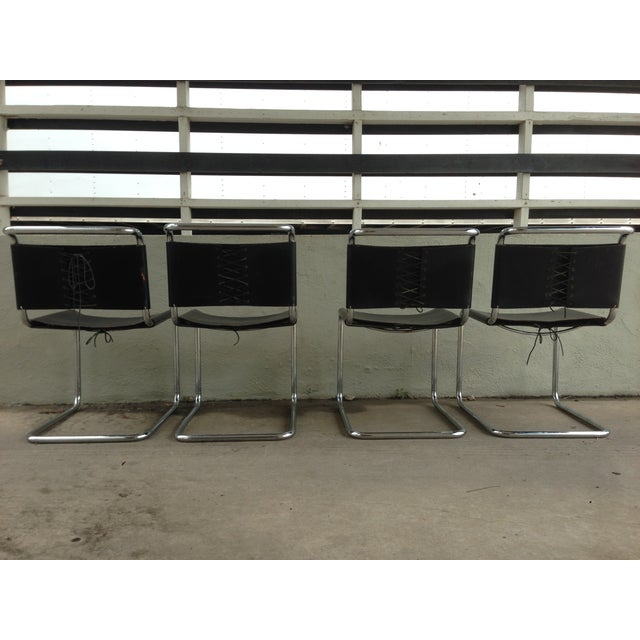 "Marcel Breuer ""Spoleto"" Chairs for Knoll - S/4 - Image 4 of 10"