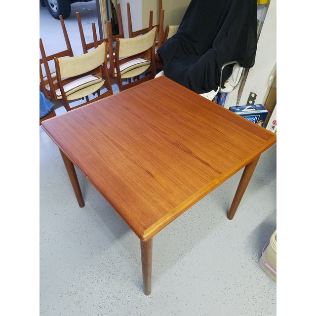 Mid-Century Modern Ansager Mobler Danish Mid-Century Dining Table For Sale - Image 3 of 3