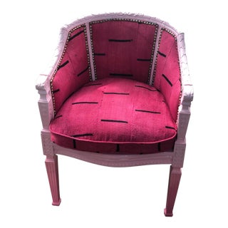 Vintage Ombre Pink Chair For Sale