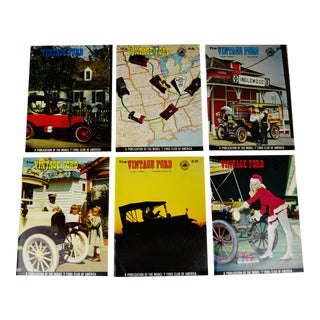 Vintage Ford Magazines - 1969 Full Year - Model T Club - Collectible For Sale