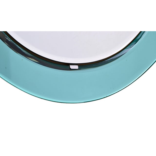 Italian Fontana Arte Wall Mirror attrib. to Max Ingrand For Sale - Image 3 of 6