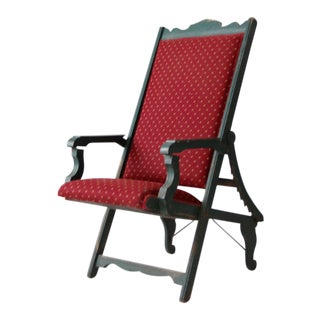 Victorian Lawn Chair For Sale