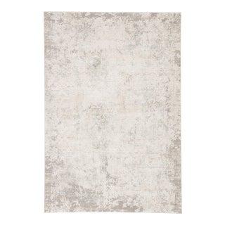 "Jaipur Living Siena Damask Ivory Gray Area Rug 5X7'6"" For Sale"