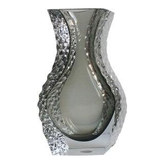 Cavagnis Mandruzzato Murano Art Glass Vase For Sale