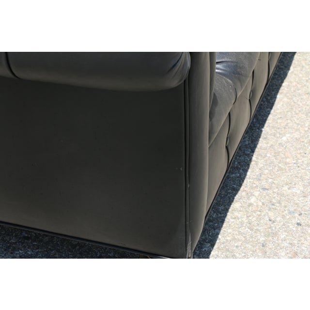 Black Tufted Chesterfield Sofa - Image 11 of 11
