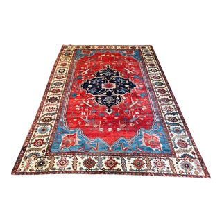 19th Century Serapi Rug For Sale