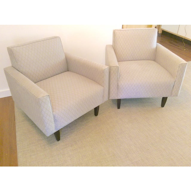 Room and Board Mid-Century Modern Chairs - a Pair - Image 2 of 11