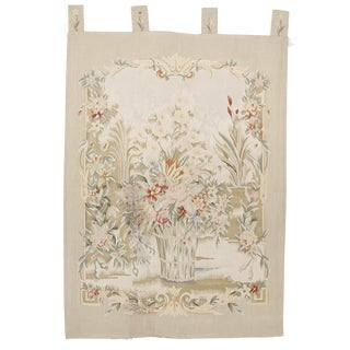 Chinese Aubussson Wall Hanging Tapestry For Sale