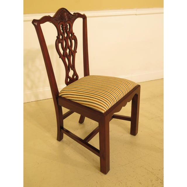 Chippendale Carved Mahogany Dining Room Side Chairs - Set of 16 - Image 3 of 13