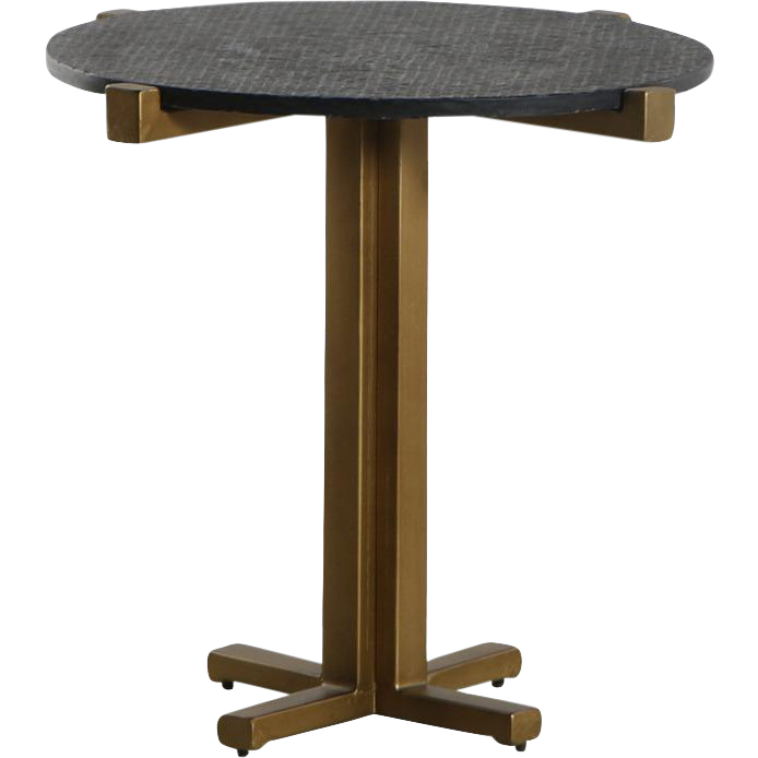 Contemporary Butler Marble Top Accent Table Chairish