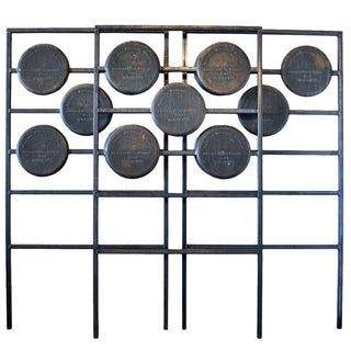 Fence From Synagogues - Set of 3 For Sale