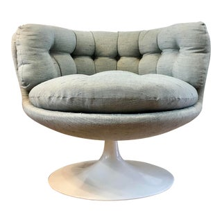 Mid Century Swivel Pod Chair by Stjermobler in Sweden 1960s For Sale