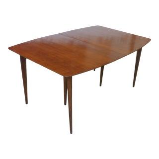 20th Century Danish Modern Teakwood Dining Table For Sale