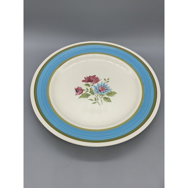 Japan's Blue Lagoon Chop Plate For Sale - Image 4 of 9