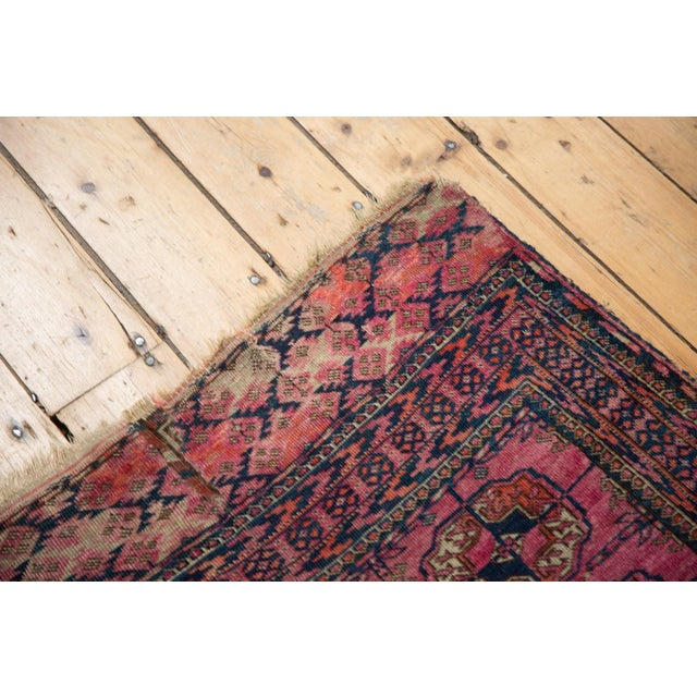 "Antique Turkmen Square Rug - 3'5"" x 3'11"" For Sale In New York - Image 6 of 13"