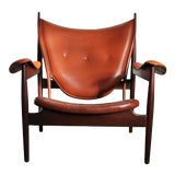 Image of 1990s Finn Juhl Chieftain Chair in Mahogany by Interior Crafts For Sale