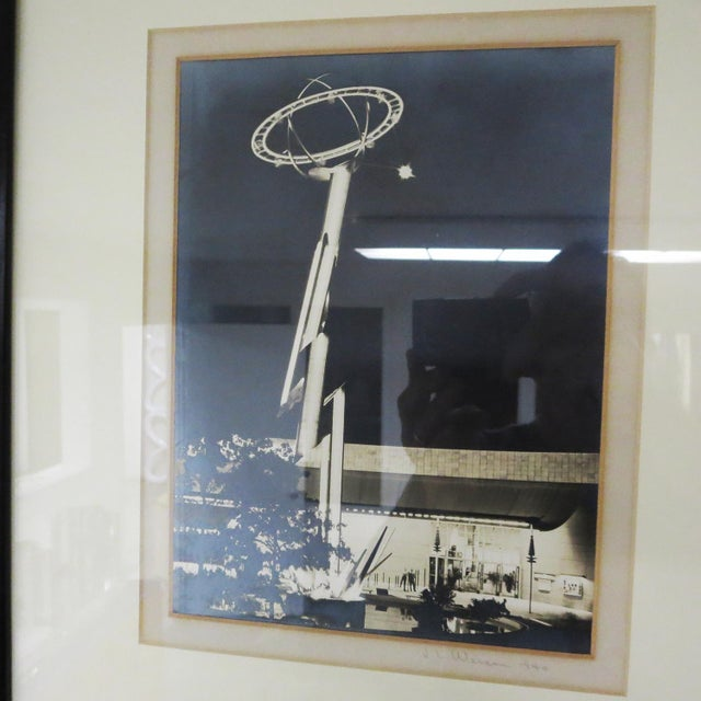 1940s Worlds Fair Framed Photos Signed J L Weiser 1940 For Sale - Image 5 of 7