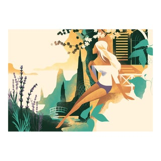 Danish Modern Beauty Poster, L'Occitane by Mads Berg For Sale