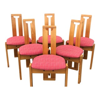 Danish Teak Dining Chairs- Set of 6 For Sale