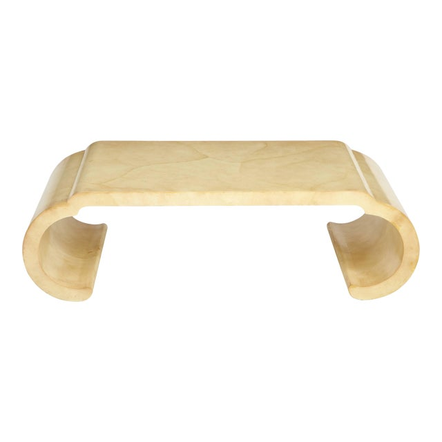 Lacquered Coffee Table by Alessandro for Baker For Sale