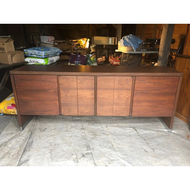 Mid Century Modern Rectangular Console Cabinet For Sale - Image 10 of 10