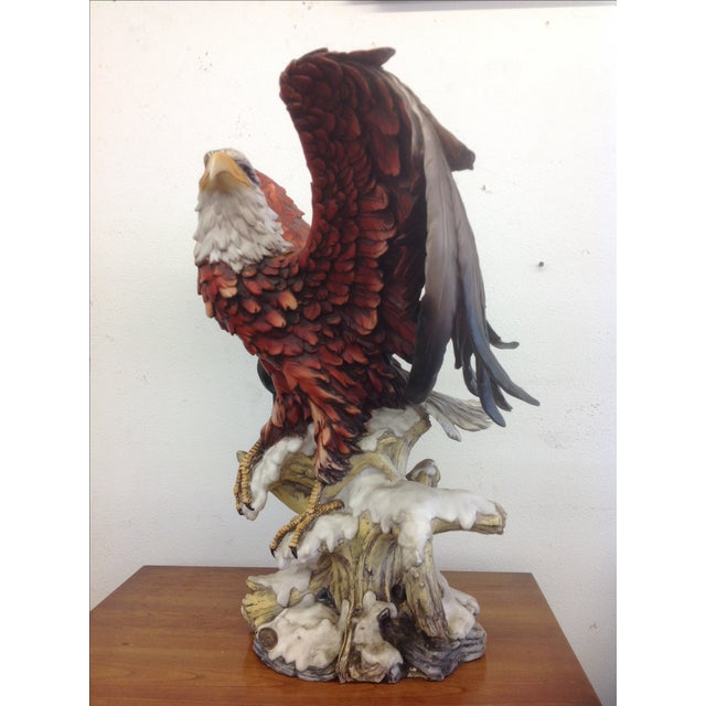 DeCapoli Collection Bald Eagle Sculpture For Sale In Los Angeles - Image 6 of 9