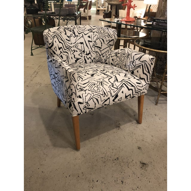 Vintage Newly Upholstered Club Chairs - a Pair For Sale In Charleston - Image 6 of 7