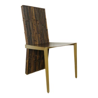 Baker / McGuire Organic Modern Bamboo Turion Dining Chair For Sale