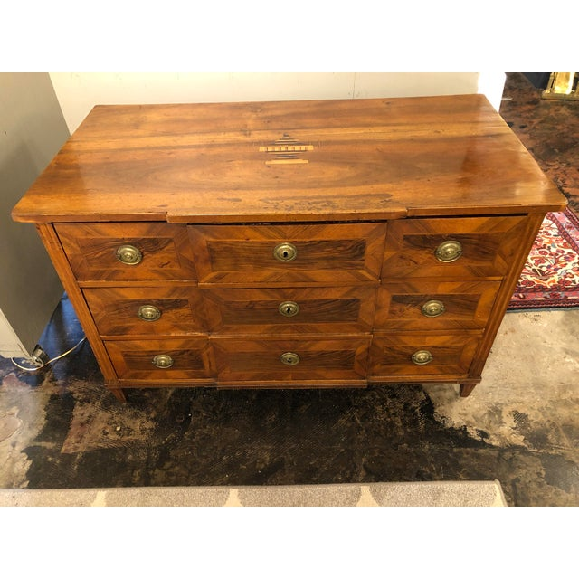 Louis XVI Period Chest of Drawers For Sale - Image 4 of 9