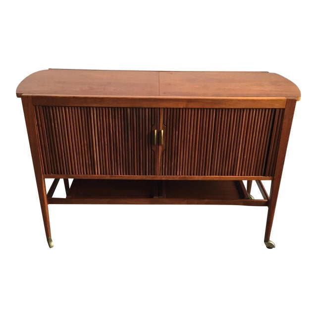 Mid-Century Drexel Bar Cart by Kipp Stewart - Image 1 of 7