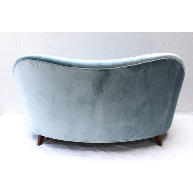 Italian Loveseat by Andrea Busiri Vici For Sale - Image 9 of 10