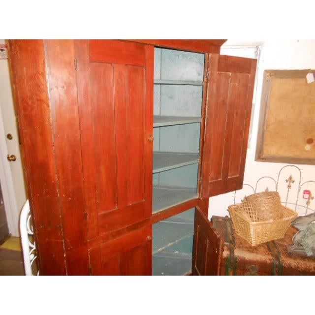 19th Century Early American Corner Cupboard For Sale In Santa Fe - Image 6 of 11